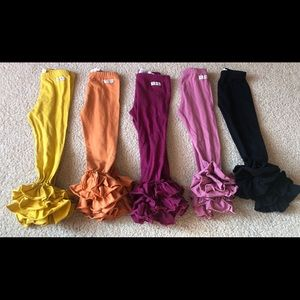 Other - Boutique Ruffle Bottom Pants